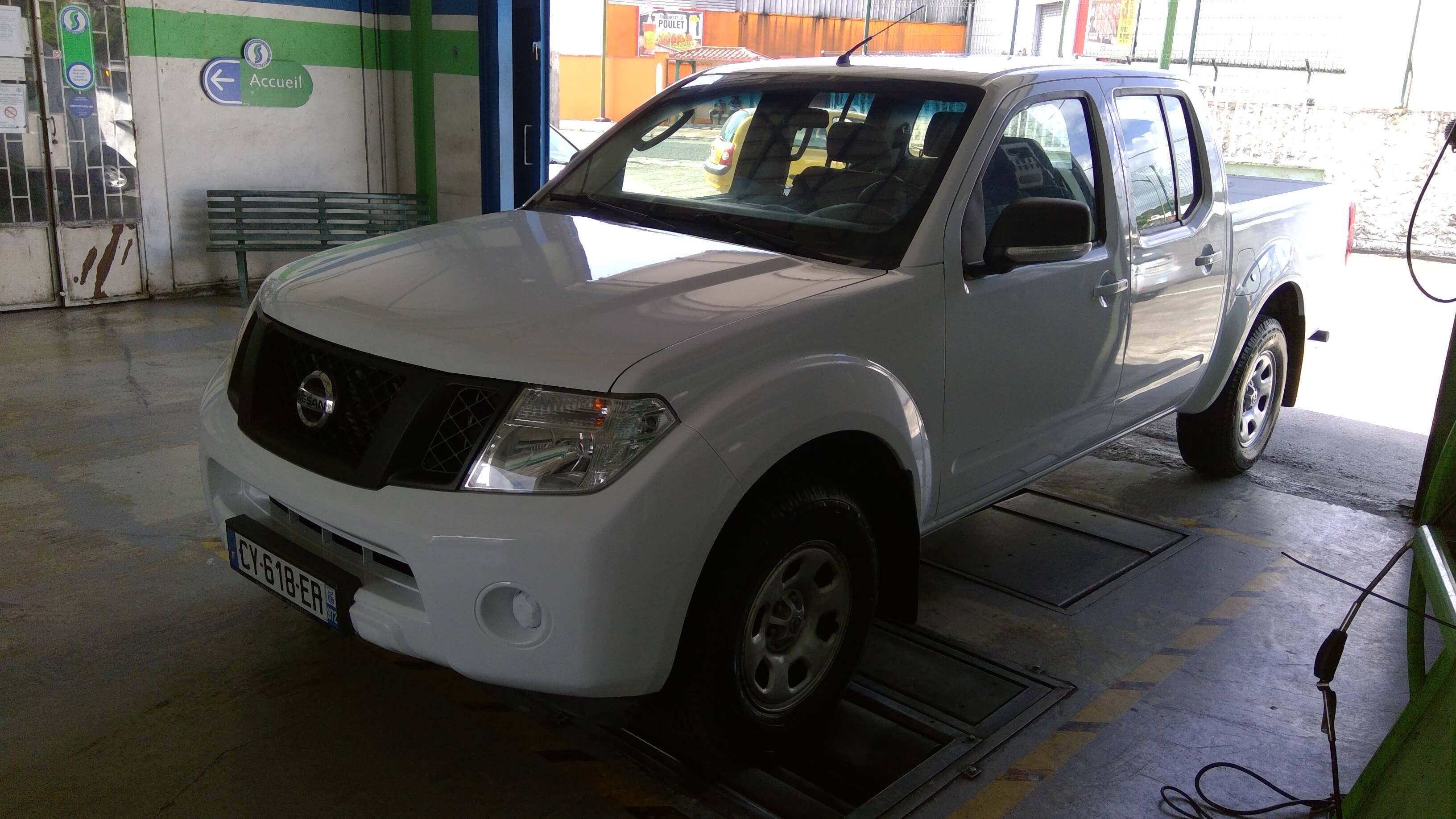Photo 1   voiture d'occasion labellisée NISSAN NAVARA